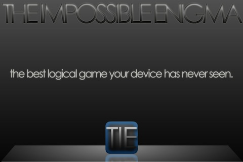 The Impossible Enigma - TIE screenshot #1