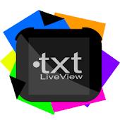 txt LiveView