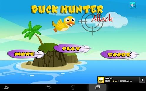 Duck Attack Hunter