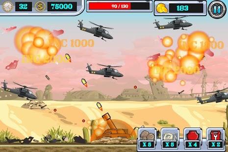大炮直升機2 -- 最火爆的打飛機遊戲 Screenshot