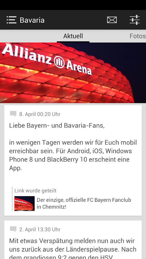 FCB Fanclub Bavaria Chemnitz - screenshot