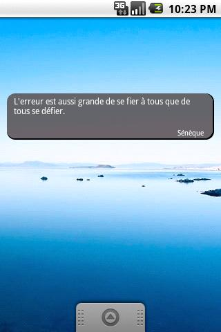 La citation du jour- screenshot