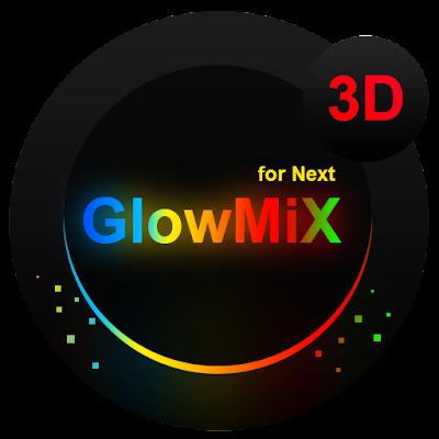 Next Launcher Theme GlowMix