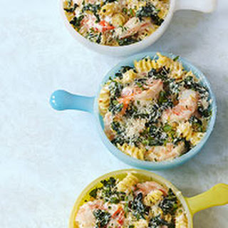 Shrimp & Pasta Mini-Bakes.