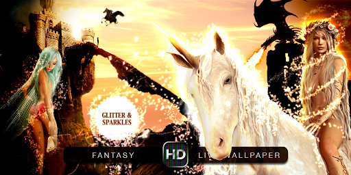 HD fantasy live wallpaper
