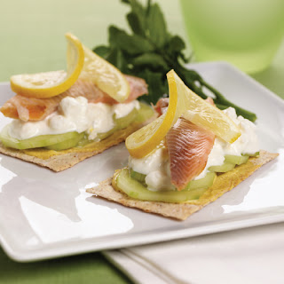Smoked Trout open Sandwich
