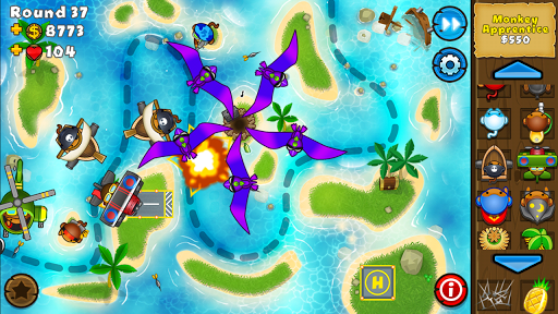 Screenshot for Bloons TD 5 in United States Play Store