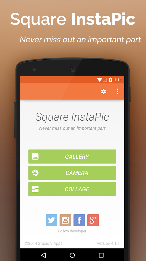 Square InstaPic - No Crop HD - screenshot