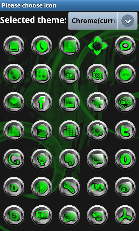 G-METAL GO Launcher EX- screenshot