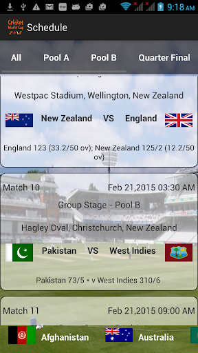 CricZ - Cricket World Cup 2015