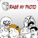 Rage my photO logo