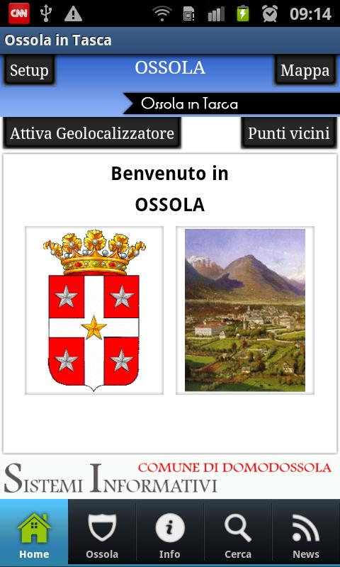 Ossola in Tasca- screenshot