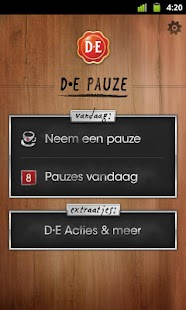 D•E Pauze - screenshot thumbnail