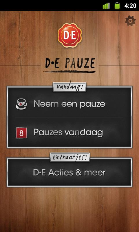 D•E Pauze - screenshot