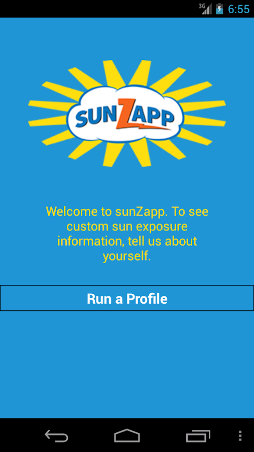 sunZapp- screenshot