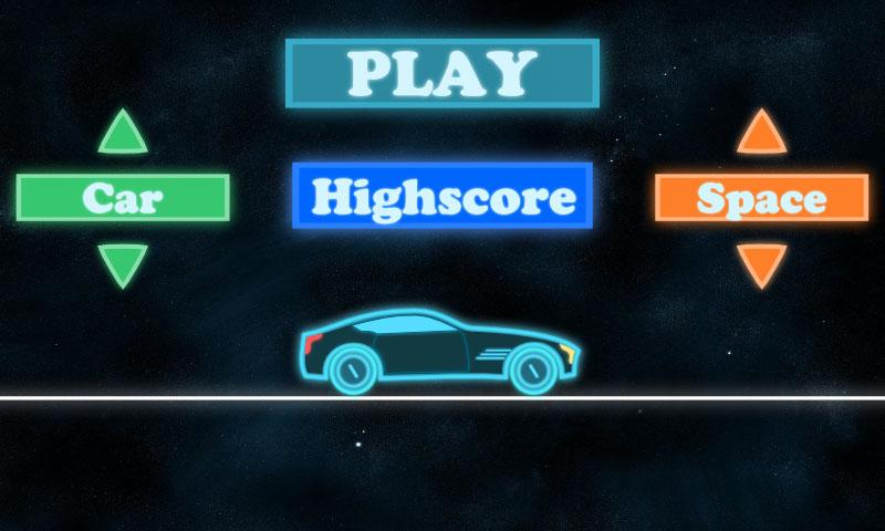 Neon Race - Hill Climb - screenshot