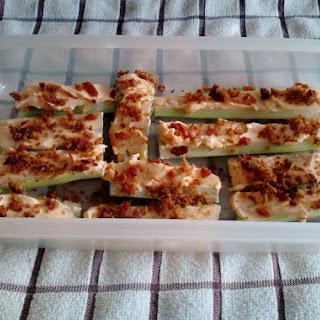 Easy Stuffed Celery.