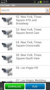 Live Cams - screenshot thumbnail