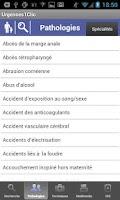 Screenshot of Urgences1Clic