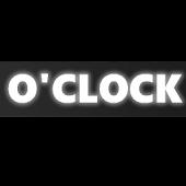 A text clock (widget)