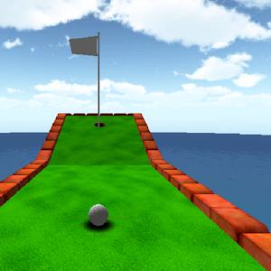 Sarjakuva mini golf peli 3D APK
