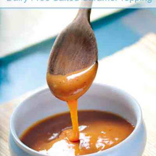 Dairy Free Salted Caramel Topping