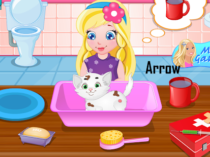 Baby Sofia White Kitty Game 家庭片 App-愛順發玩APP
