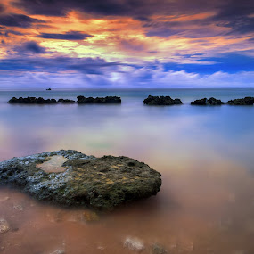 Shimmering by Aditya Permana - Landscapes Waterscapes