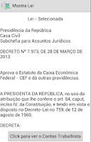 Screenshot of Quiz Concurso Caixa