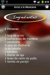 iCocinar Cocina Mexicana- screenshot thumbnail