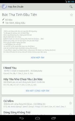 Download Hợp Âm Chuẩn - Hop Am Guitar Google Play softwares