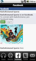 Screenshot of Radio Romanul