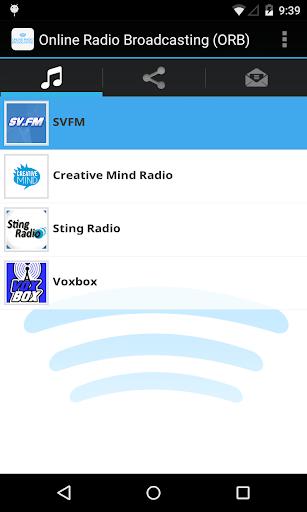 Online Radio Broadcasting ORB
