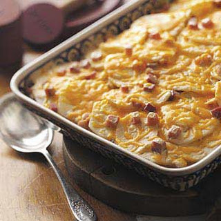 Scalloped Potatoes 'n' Ham Casserole.