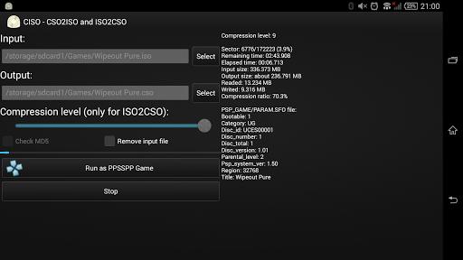 【免費工具App】CISO – PSP ISO Compressor PRO-APP點子