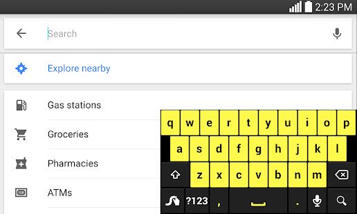 Swype Keyboard Free - screenshot thumbnail