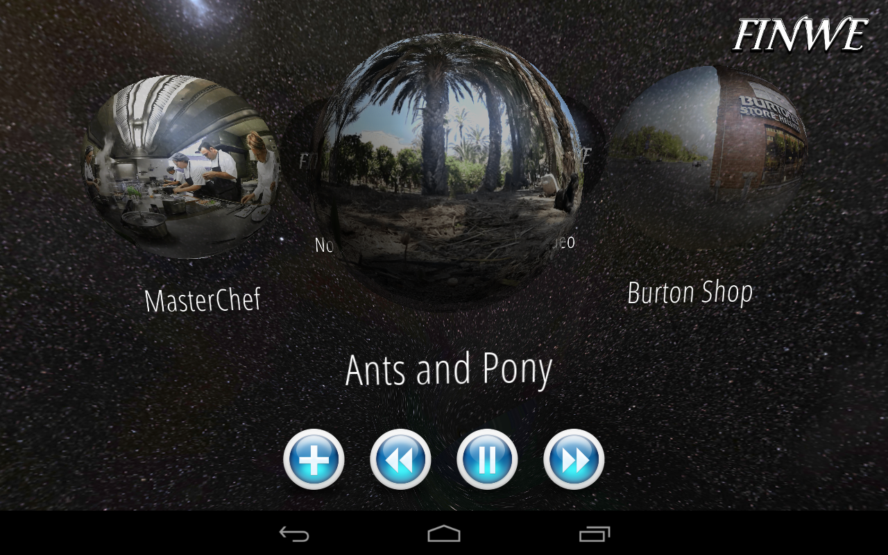 360 Video Ball - screenshot