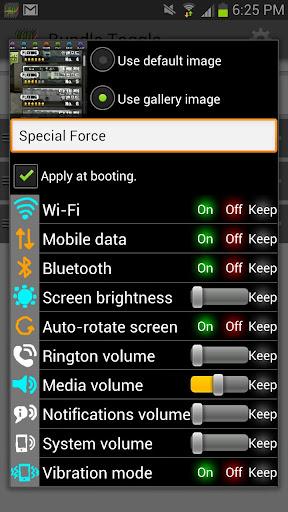 玩工具App|원터치로 폰을 제어 Bundle Toggle免費|APP試玩