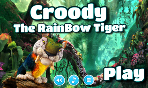 Croody The Rainbow Tiger