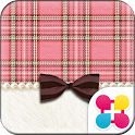 Pink Plaid Wallpaper Theme icon