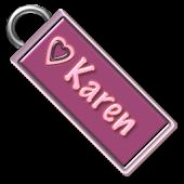 Karen Name Tag