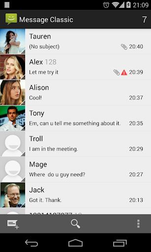 Messaging Classic 1.5.10 screenshots 1