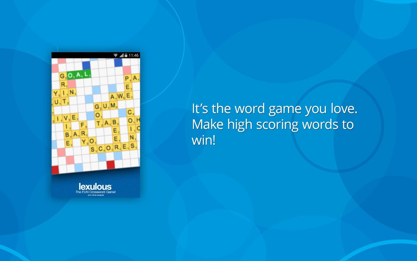 Lexulous Word Game - screenshot