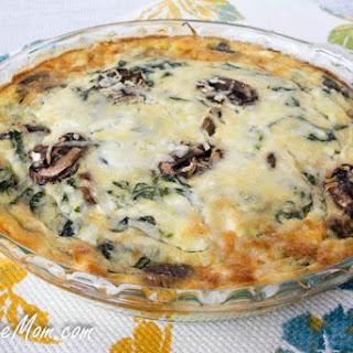 Spinach Mushroom Pie Recipes.