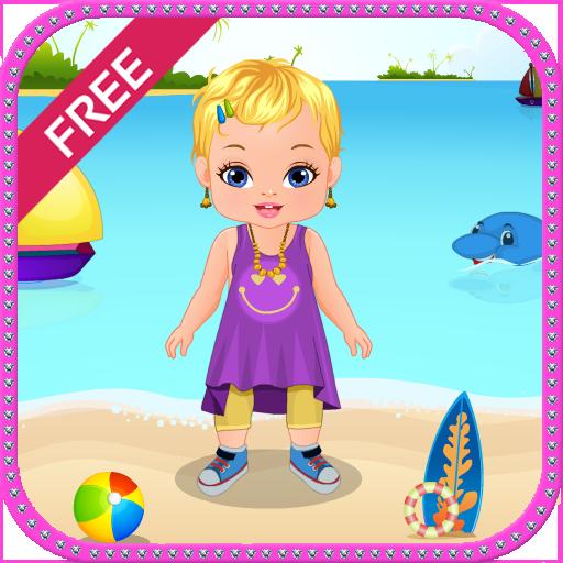 婴儿护理女孩的游戏 休閒 App LOGO-硬是要APP