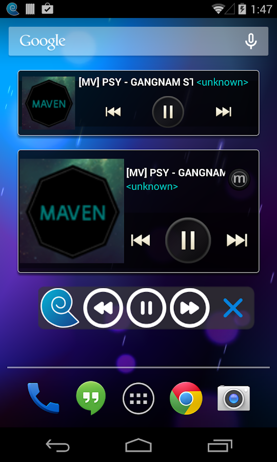 MAVEN Music Player (Pro) - screenshot