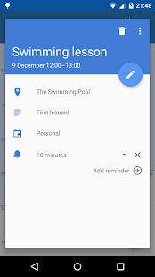 Touch Calendar- screenshot thumbnail
