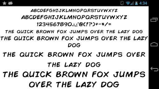 Fonts for FlipFont 50 Written  screenshots 5