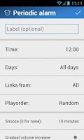 Screenshot of LinkAlarm - Alarm Clock