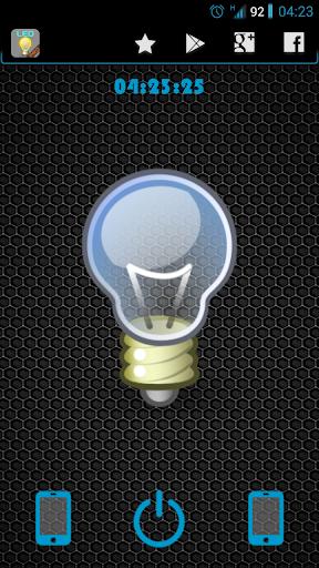 LED Flashlight Pro + Widget